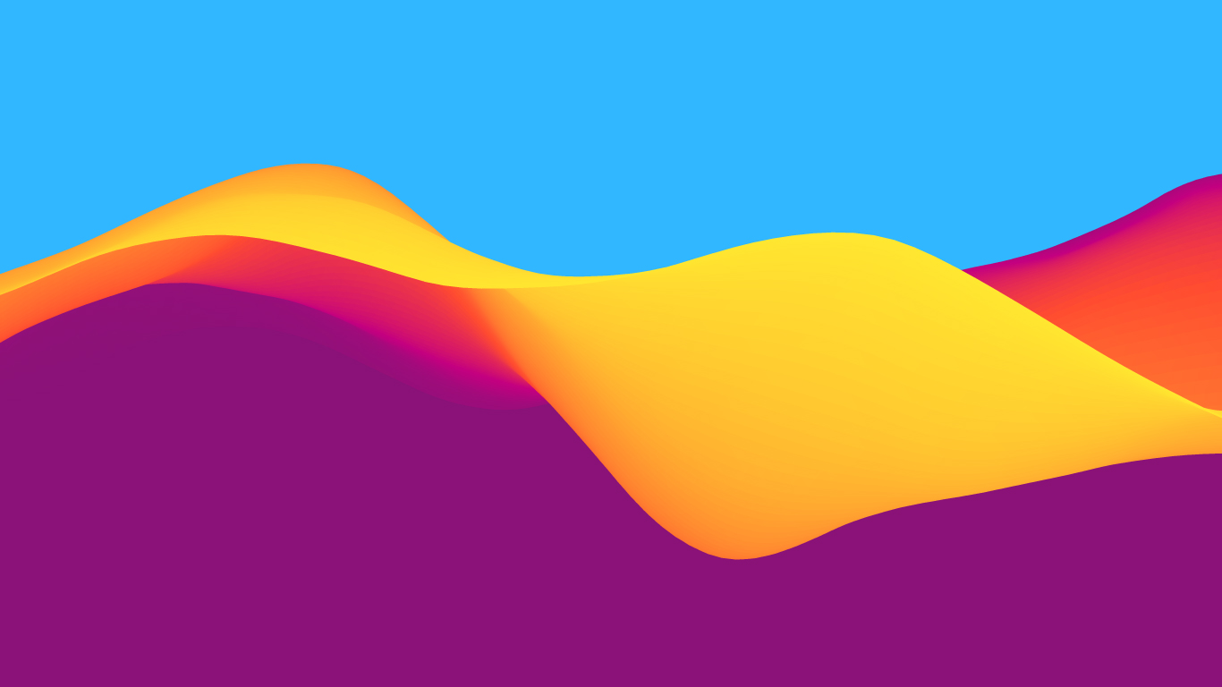 Colourful Curves Background
