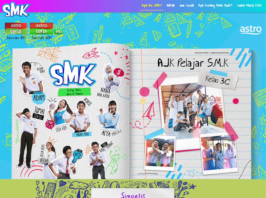 Astro Ceria SMK Website